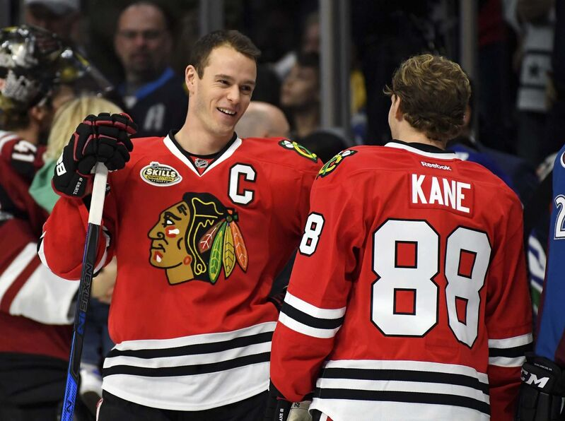 Mark J. Terrill / The Associated Press files</p><p>Chicago Blackhawks&rsquo; Jonathan Toews</p>