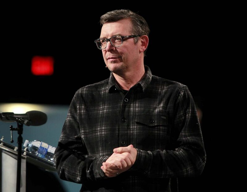 Theo Fleury said he would invite media outlets to be part of the meeting to ensure full transparency and maximize the message he hopes would come from it. (Boris Minkevich / Winnipeg Free Press files)</p>