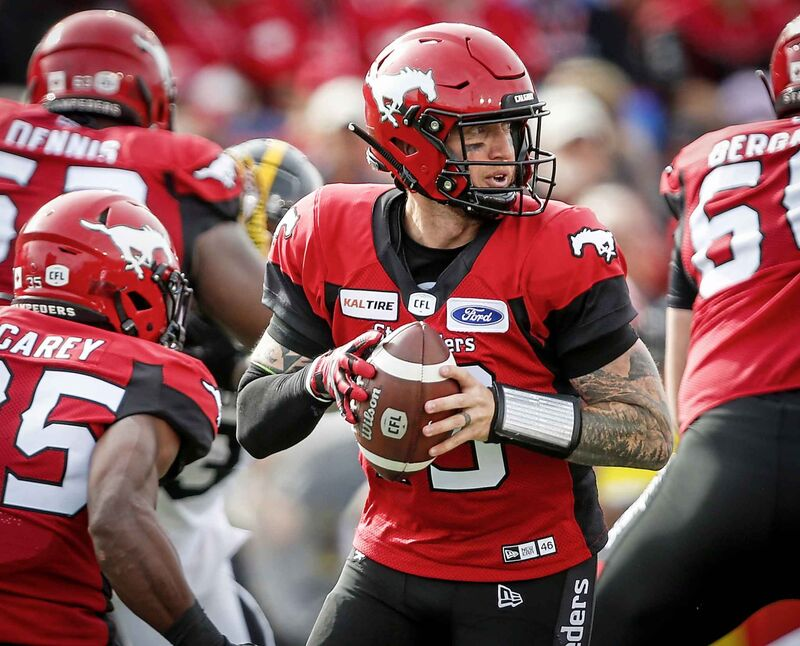 Calgary Stampeders quarterback Bo Levi Mitchell is regaining the form that garnered him league MVP honours last season.
