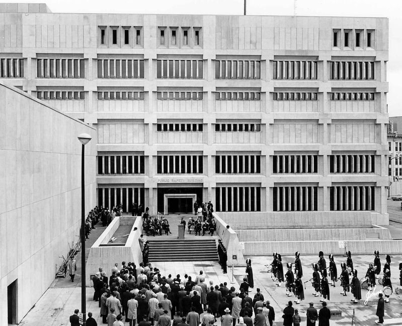 Public Safety Building official opening on May 18, 1966.