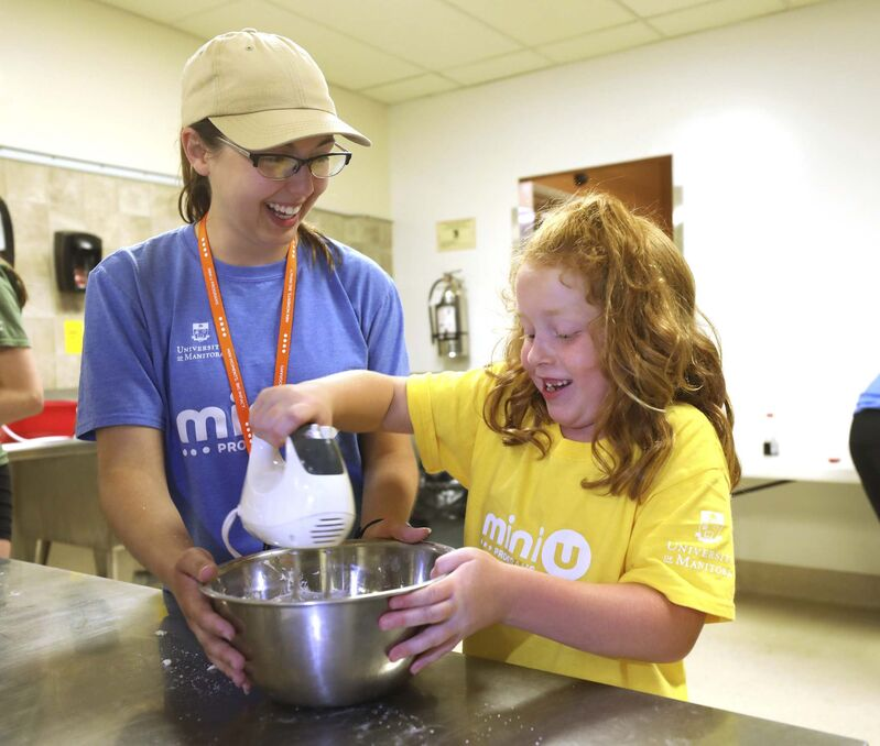 The Kids in the Kitchen program sells out in two minutes, says a Mini U organizer.