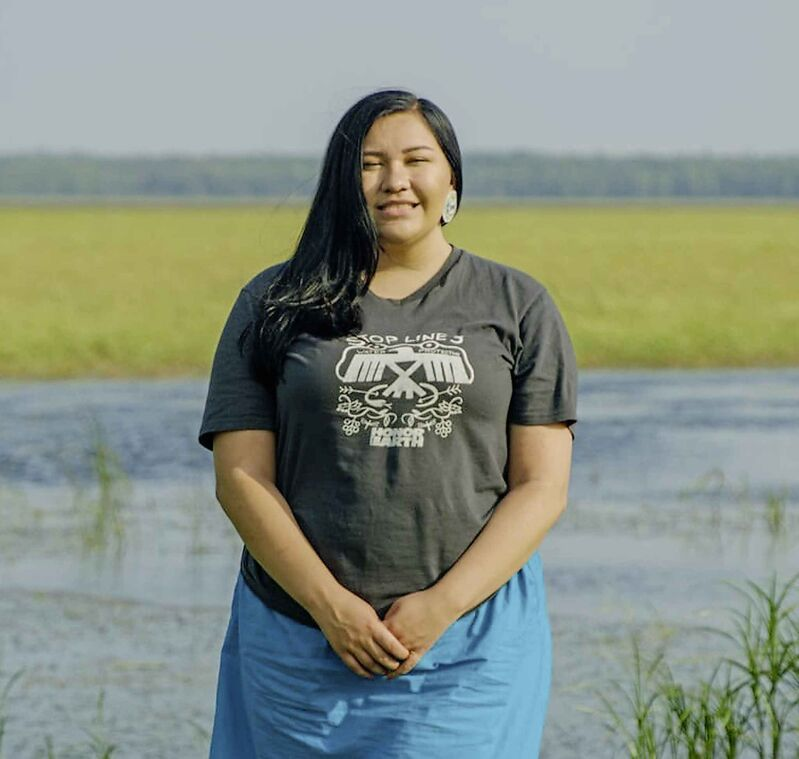18-year-old Rose Whipple has led opposition against the Dakota Access Pipeline and the Line 3 pipeline which carries oil from Alberta into Wisconsin.