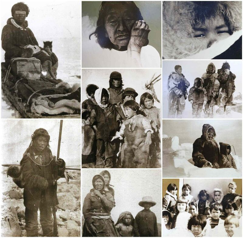 IMAGES COURTESY OF BORIS KOTELEWETZ</P><p>The resettlement of the Inuit to Baker Lake, circa 1960. The move ended a way of life that thrived in the Arctic for thousands of years.