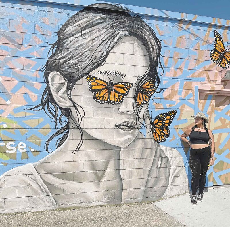 Ashley Christiansen, a tattoo artist and muralist in Selkirk, has organized an art crawl as a way to draw public attention to the city's murals while giving artists impacted by the pandemic a shot to share their work with the community.</p>