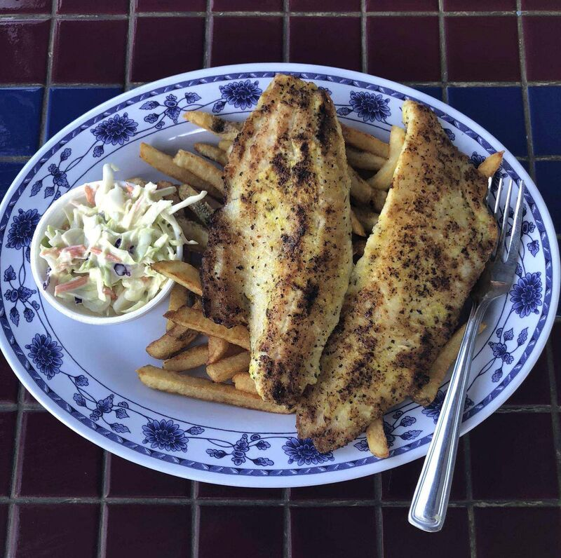 ERIN LEBAR / WINNIPEG FREE PRESS</p><p>The pickerel at Beach Boy.