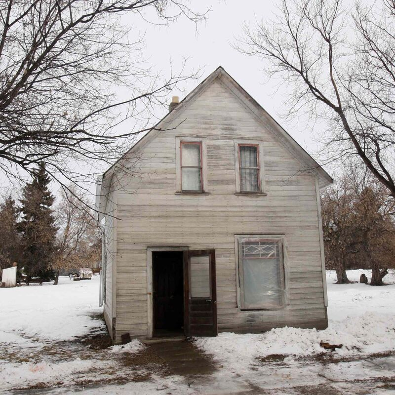 JOE BRYKSA / WINNIPEG FREE PRESS  Chic's Place is a nearby home that was left to arena curling club to hold parties in Lenore, Man.