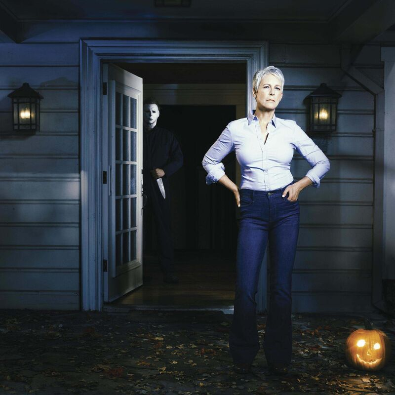 Jamie Lee Curtis returns as a traumatized Laurie Strode in the latest Halloween reboot. (Universal Pictures)