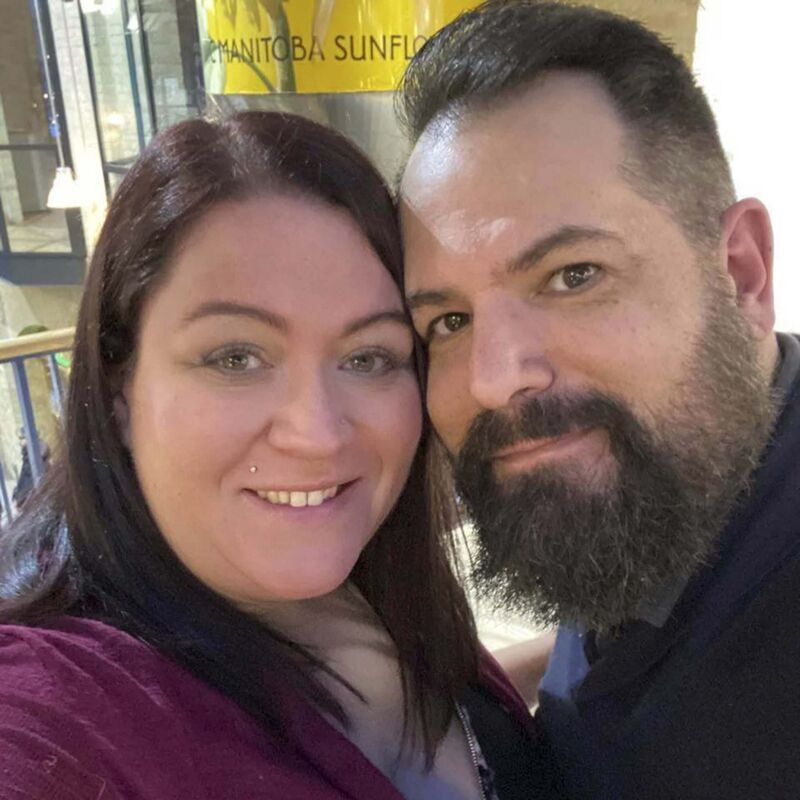 Jacquelynn Sharman and Dan Scheuerpflug have pushed back their wedding to 2022 and aren't planning on changing the date despite loosening restrictions.</p>
