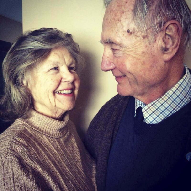 Supplied</p><p>Dr. Olva Odlum and husband Bruce Odlum on their 50th anniversary.</p>