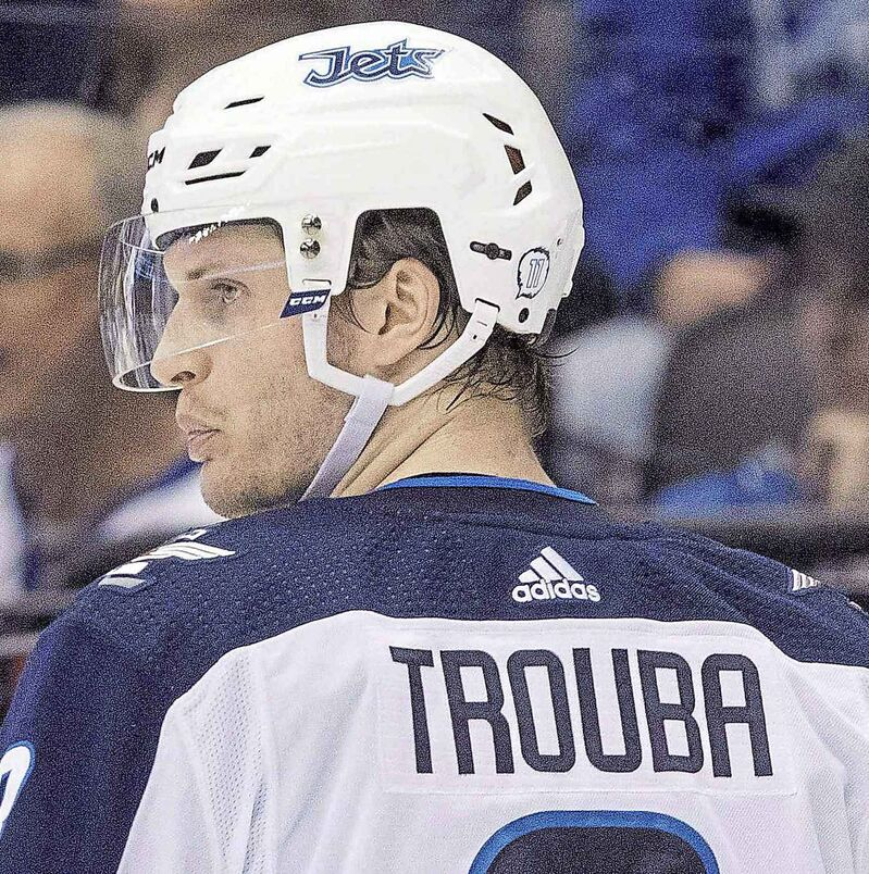 Winnipeg Jets' defenceman Jacob Trouba, is currently a restricted free agent.