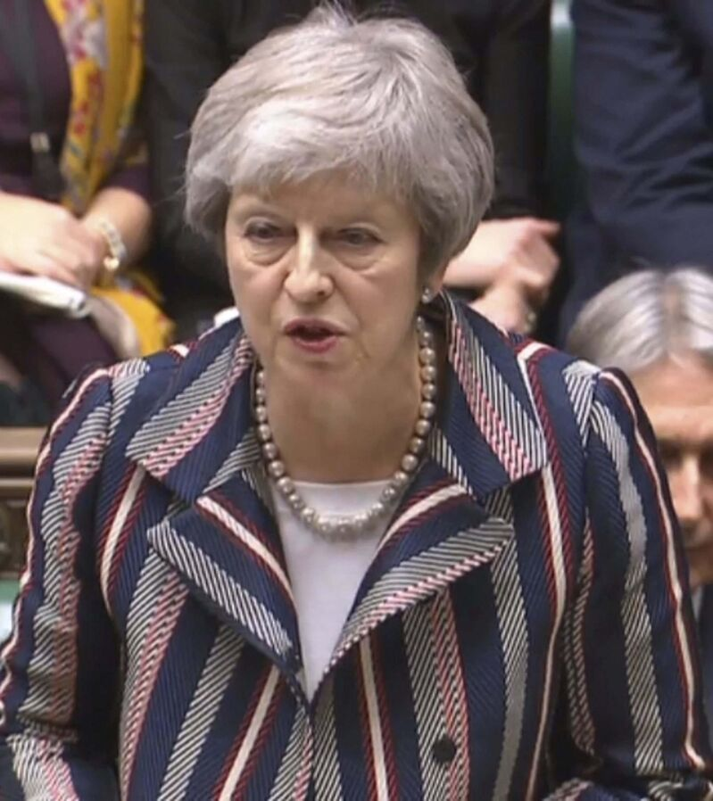 British Prime Minister Theresa May has two weeks to sell her Brexit deal. (House of Commons / PA Images)</p></p>