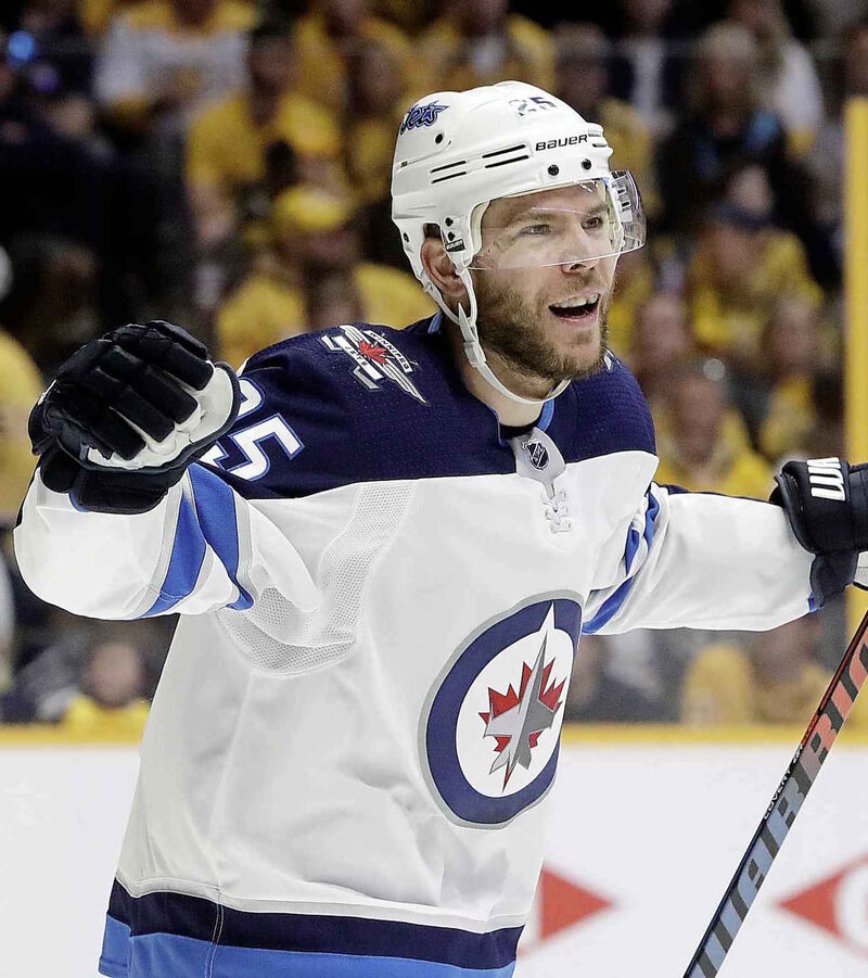 The Winnipeg Jets traded a prospect and their first-round draft pick in 2018 to the St. Louis Blues for centre Paul Stastny.