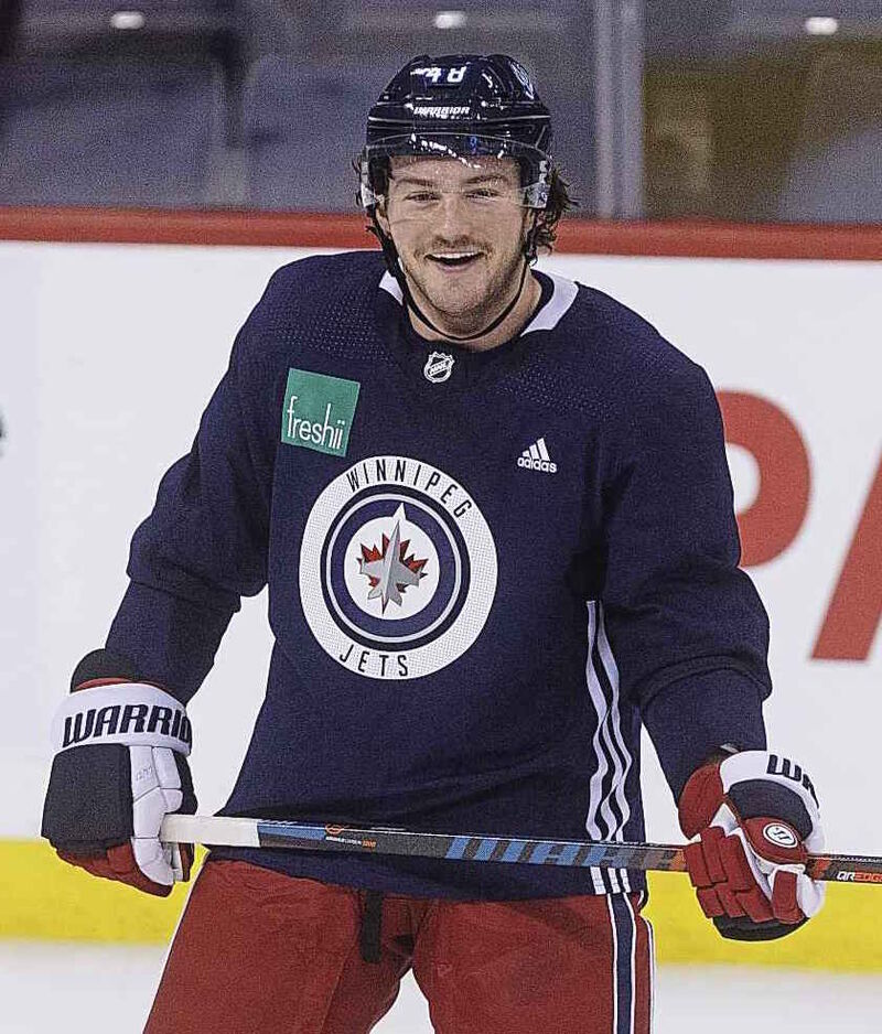 Winnipeg Jets' Brendan Lemieux is part of a fourth line that rarely gets above five minutes of playing time a night.