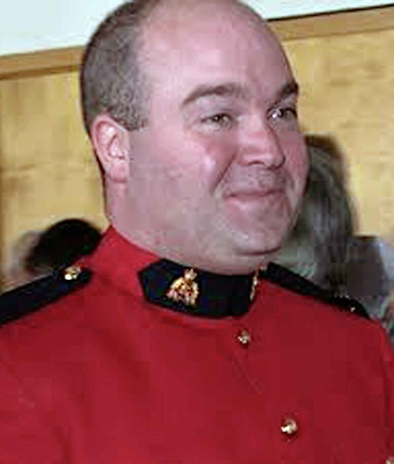RCMP officer Graeme Kingdon