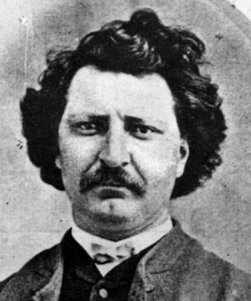 Métis leader Louis Riel
