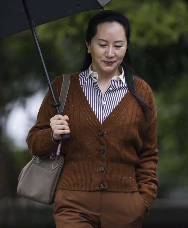 Meng Wanzhou is under house arrest in Vancouver. (Darryl Dyck / The Canadian Press files)