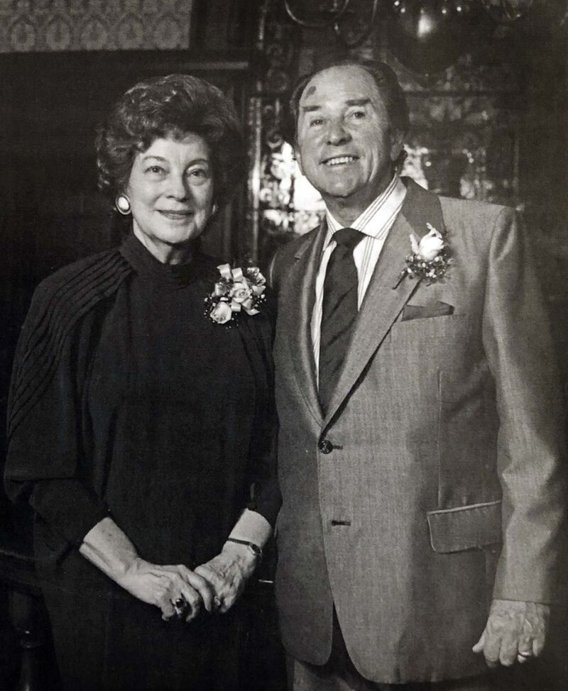 SUPPLIED</p><p>Thelma and husband Kerr Wilson at their 50th wedding anniversary in 1991.</p>