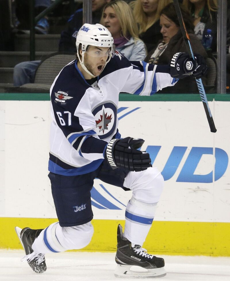 The Winnipeg Jets picked up right wing Michael Frolik from the cash-strapped Chicago Blackhawks in 2013 in exchange for draft picks.