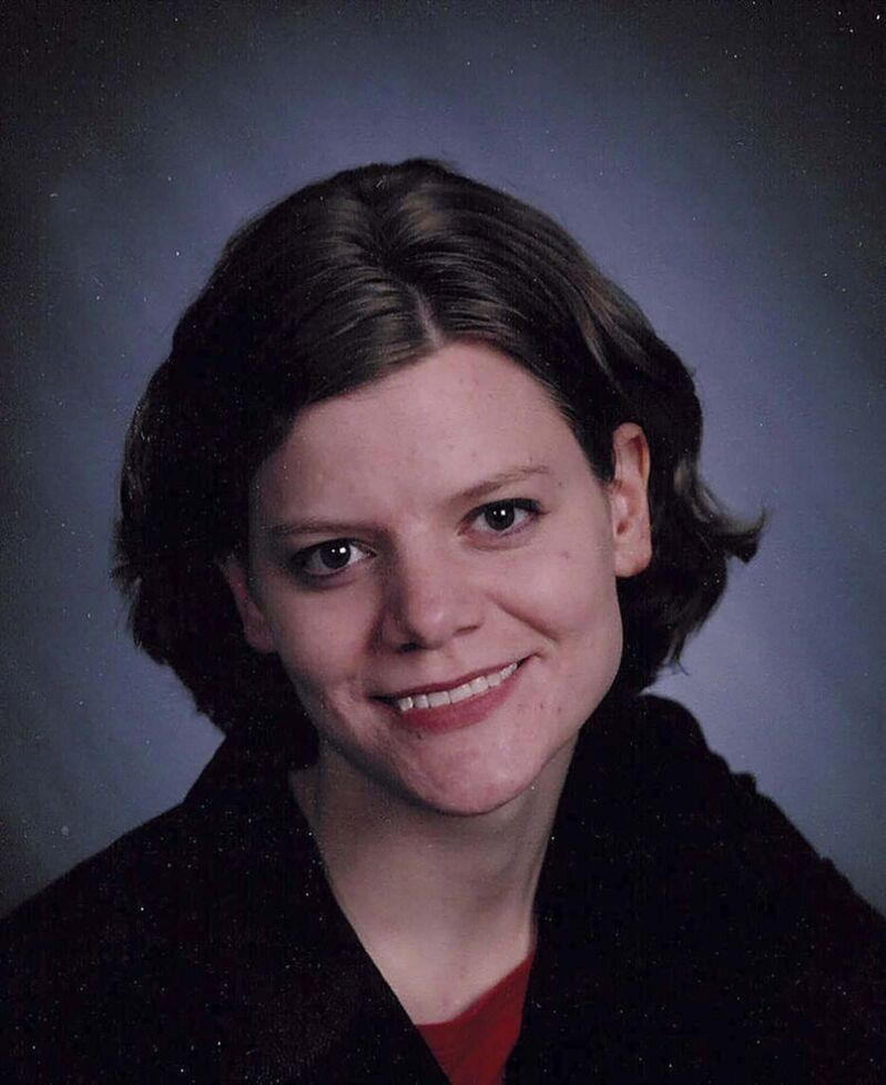 This undated photo provided by Thomas Pearce and the family of Teresa Halbach, shows Halbach, who was murdered in 2005. (Associated Press files)</p>