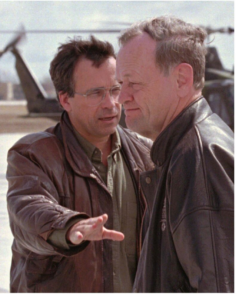 In his book, Filmon says the military support provided by Prime Minister Jean Chretien was critical in battling the 1997 flood. (Tom Hanson / The Canadian Press files)