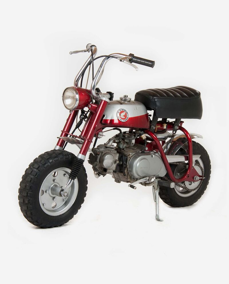 Willy affectionately called his first bike, a 1969 Honda Z50A, the Zed 50. (Supplied)