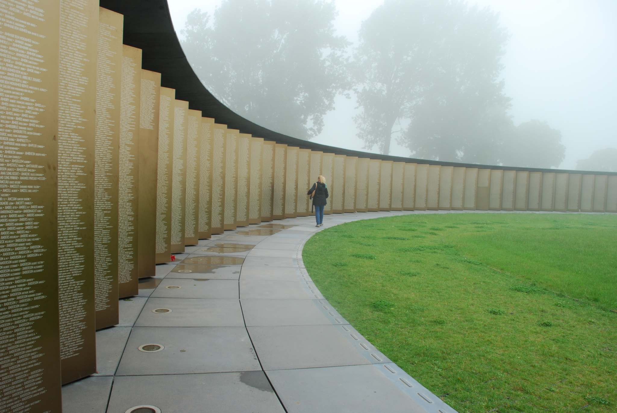 </p><p>Ron Pradinuk / Winnipeg Free Press</p><p>Without any reference to nationality the names of 580,000 soldiers of both sides are inscribed on the Ring of Remembrance in Ablain-Saint-Nazaire.</p>