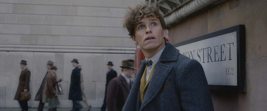 Newt (Eddie Redmayne) is on the hunt for a Zaowu, a creature from Chinese mythology in  Fantastic Beasts: The Crimes of Grindelwald. (Warner Bros. Pictures)