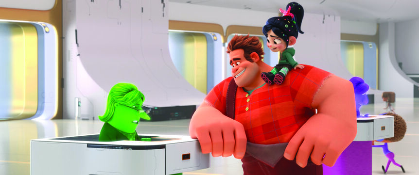 "In ""Ralph Breaks the Internet,"" video game bad guy Ralph and fellow misfit Vanellope von Schweetz venture into the expansive and thrilling world of the internet."