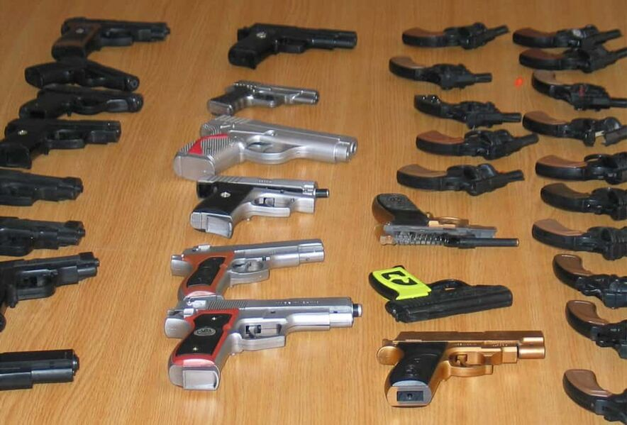 Replica weapons ban is a life-saving measure