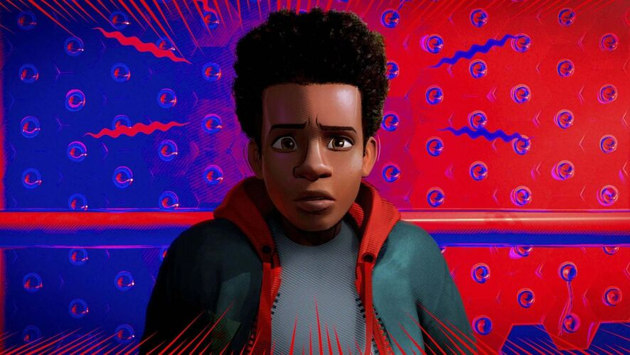 Sony Pictures Animation / The Associated Press</p><p>Miles Morales, voiced by Shameik Moore, in 'Spider-Man: Into the Spider-Verse.'</p>