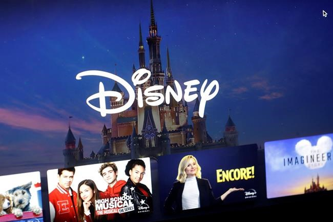 Disney Plus says it hit more than 10 million sign-ups on its first day of launch, far exceeding expectations. (AP Photo/Steven Senne)