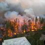 Rain aids firefighting efforts in Whiteshell, Nopiming