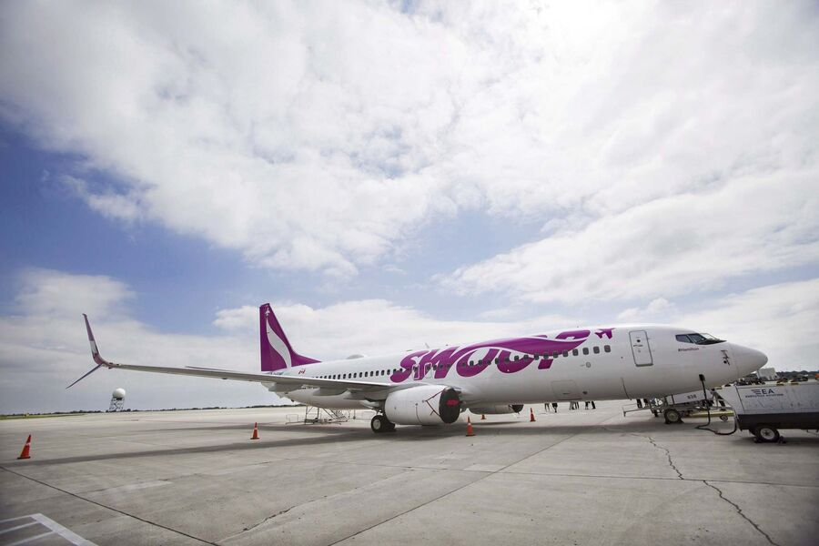 Swoop budget airline offers $1 base fares in Canada