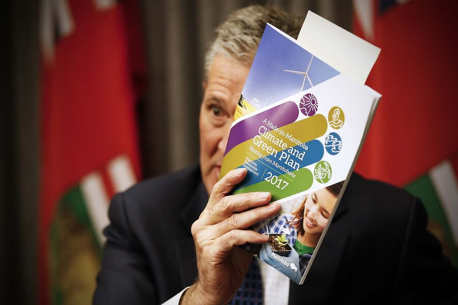 Pallister pledges $150M for new green initiatives