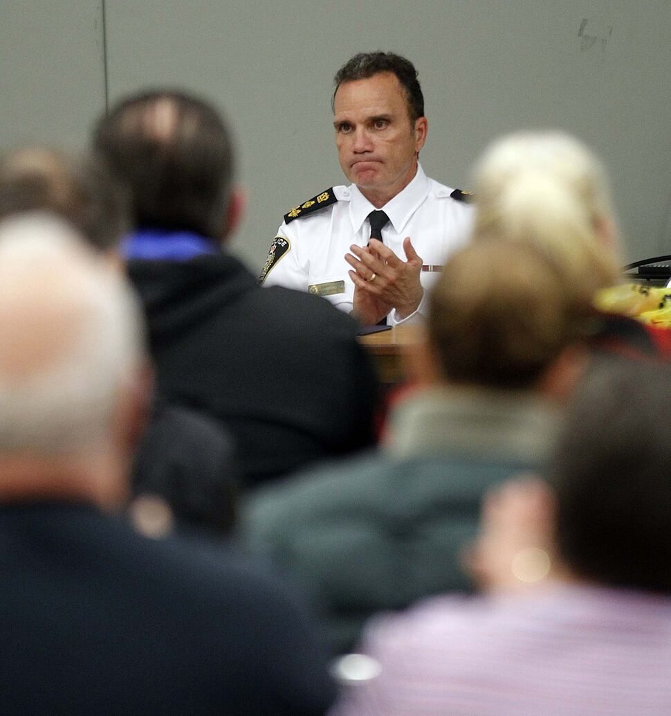 Winnipeg police Chief Danny Smyth said in February the city's meth problem was so bad, it was keeping him awake at night. (PHIL HOSSACK / WINNIPEG FREE PRESS)
