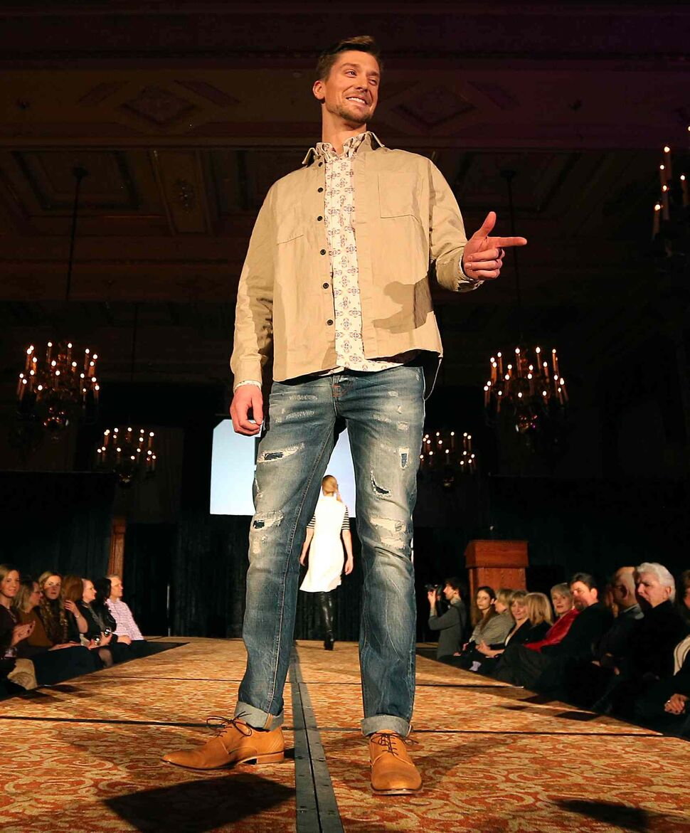 JASON HALSTEAD / WINNIPEG FREE PRESS</P><p>Models show off Danali designs at the Runway to Change fashion show fundraiser presented by Qualico in support of Main Street Project on Feb. 2, 2017, at the Fort Garry Hotel.