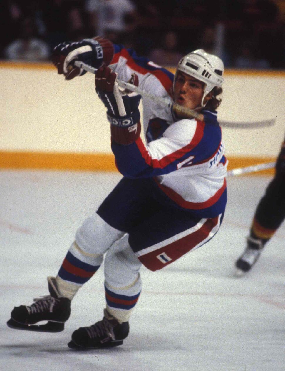 Hawerchuk in October 1982. (Ken Giglioitti / Winnipeg Free Press files)