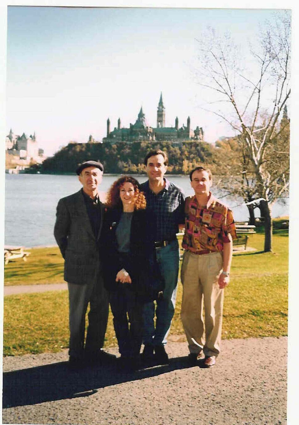 Val Werier with his children, Judy, Micheal and Jonathon during a trip to Ottawa to receive the Order of Canada. (FAMILY PHOTO / WINNIPEG FREE PRESS FILES)