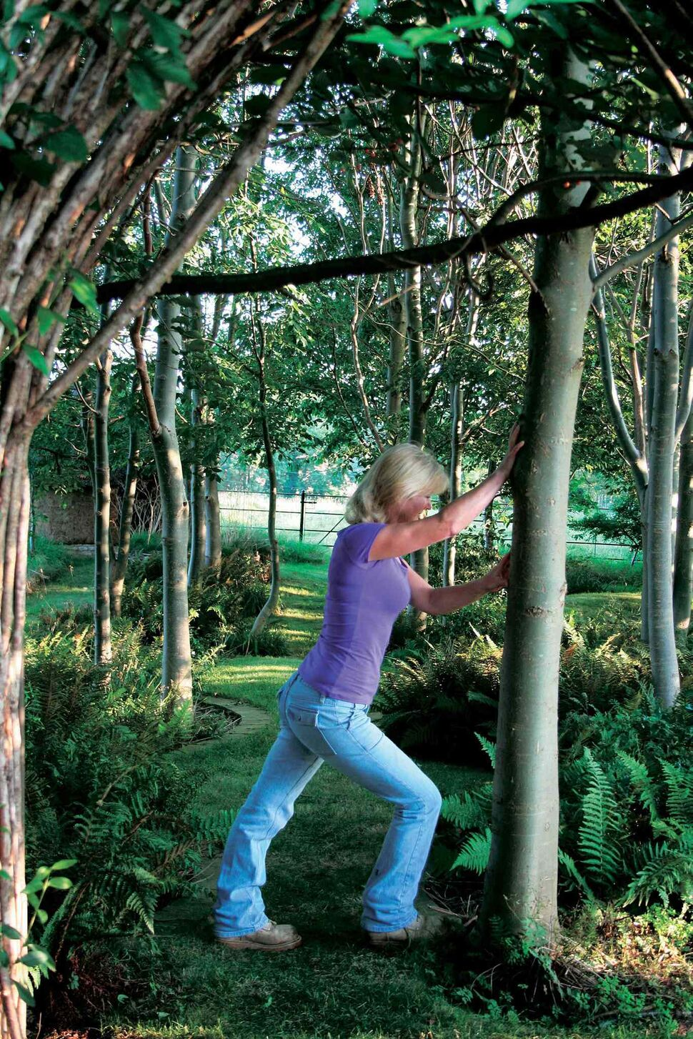 Taking time to stretch before exertion in the garden will pay off (Timber Press)