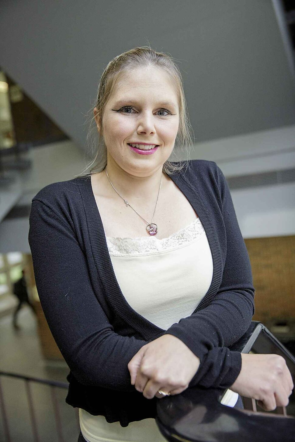 Heidi Wilson is microcephelic and wants to raise awareness for the condition. (MIKE DEAL / WINNIPEG FREE PRESS)