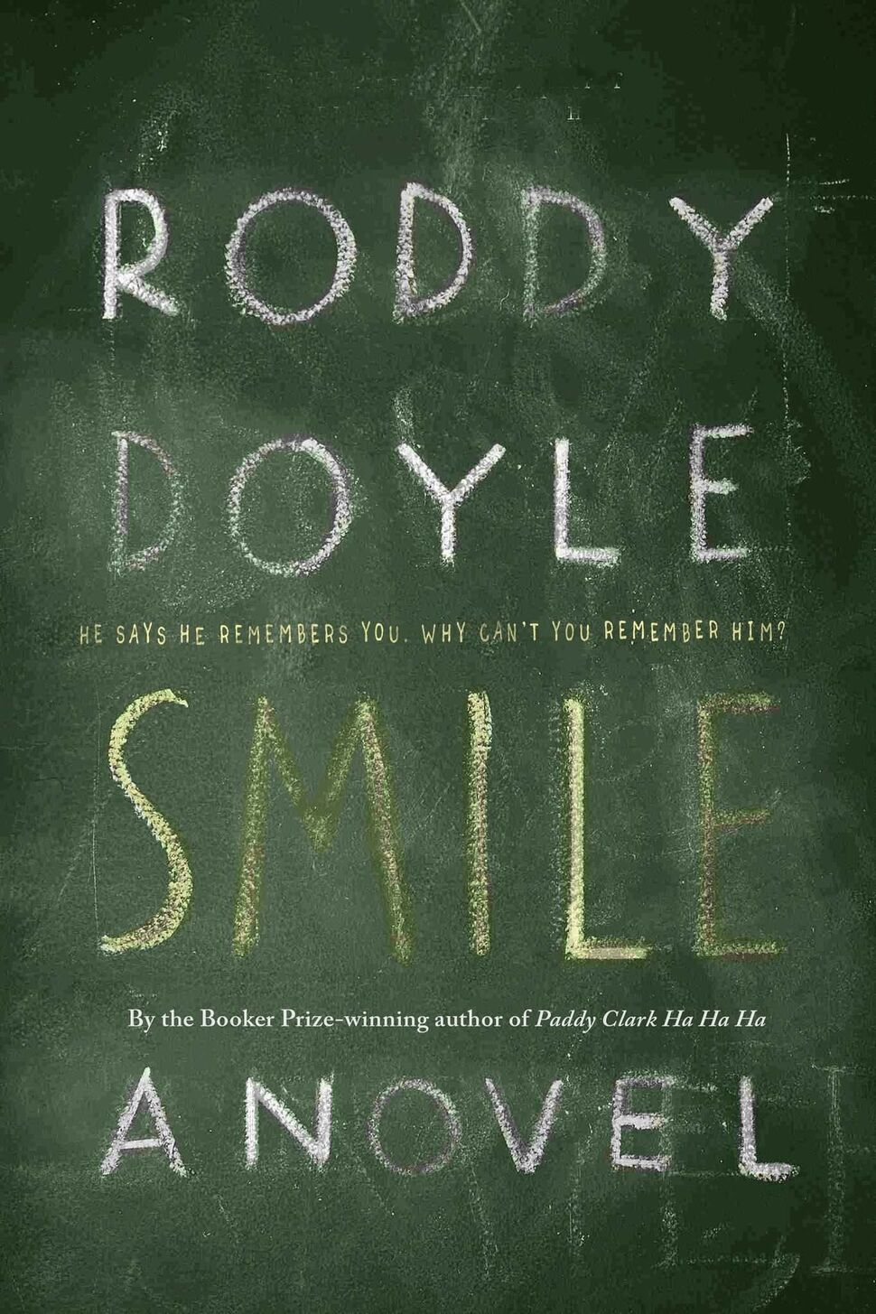 Smile</p><p>By Roddy Doyle</p><p>Knopf Canada, Sept. 12</p><p>The Booker Prize-winning Doyle (Paddy Clark Ha Ha Ha) retains his razor-sharp dialogue and humour in his latest &mdash; about a newly single man who runs into an old school friend at a bar and heads down a rabbit-hole of troubling memories &mdash; but adds psychological suspense and a very unexpected ending.</p></p>