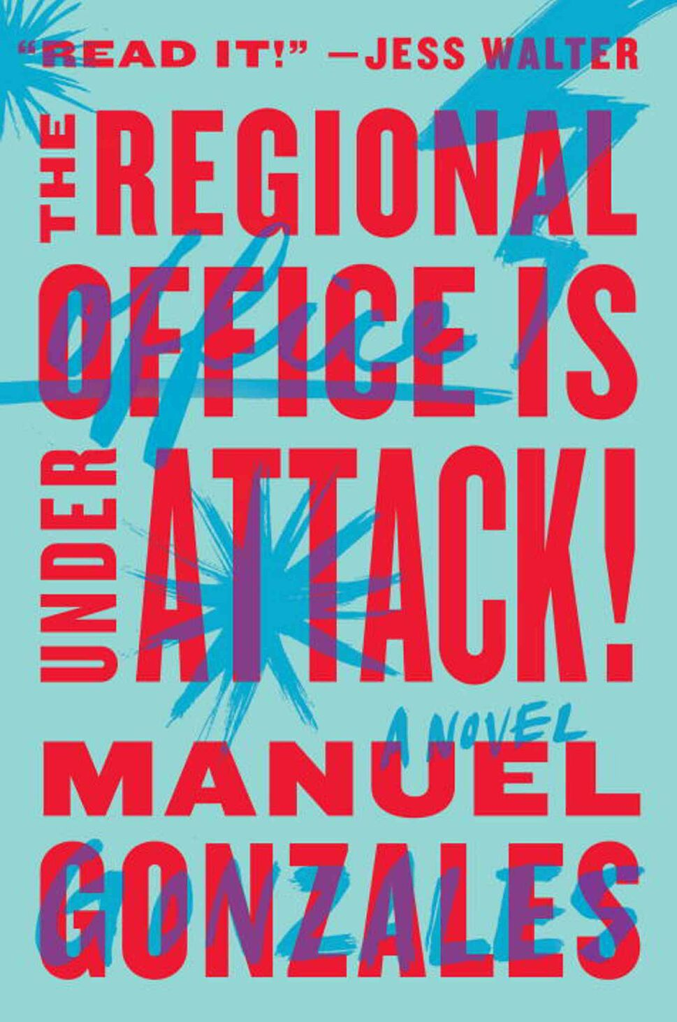 <h3>The Regional Office is Under Attack!</h3> <br/> By Manuel Gonzales <br/> <strong>The fight scenes are fast and inventive, but it's the dark way they're grounded in banal office politics and teenage angst that makes this such a fun read.</strong> <br/> — Alan MacKenzie