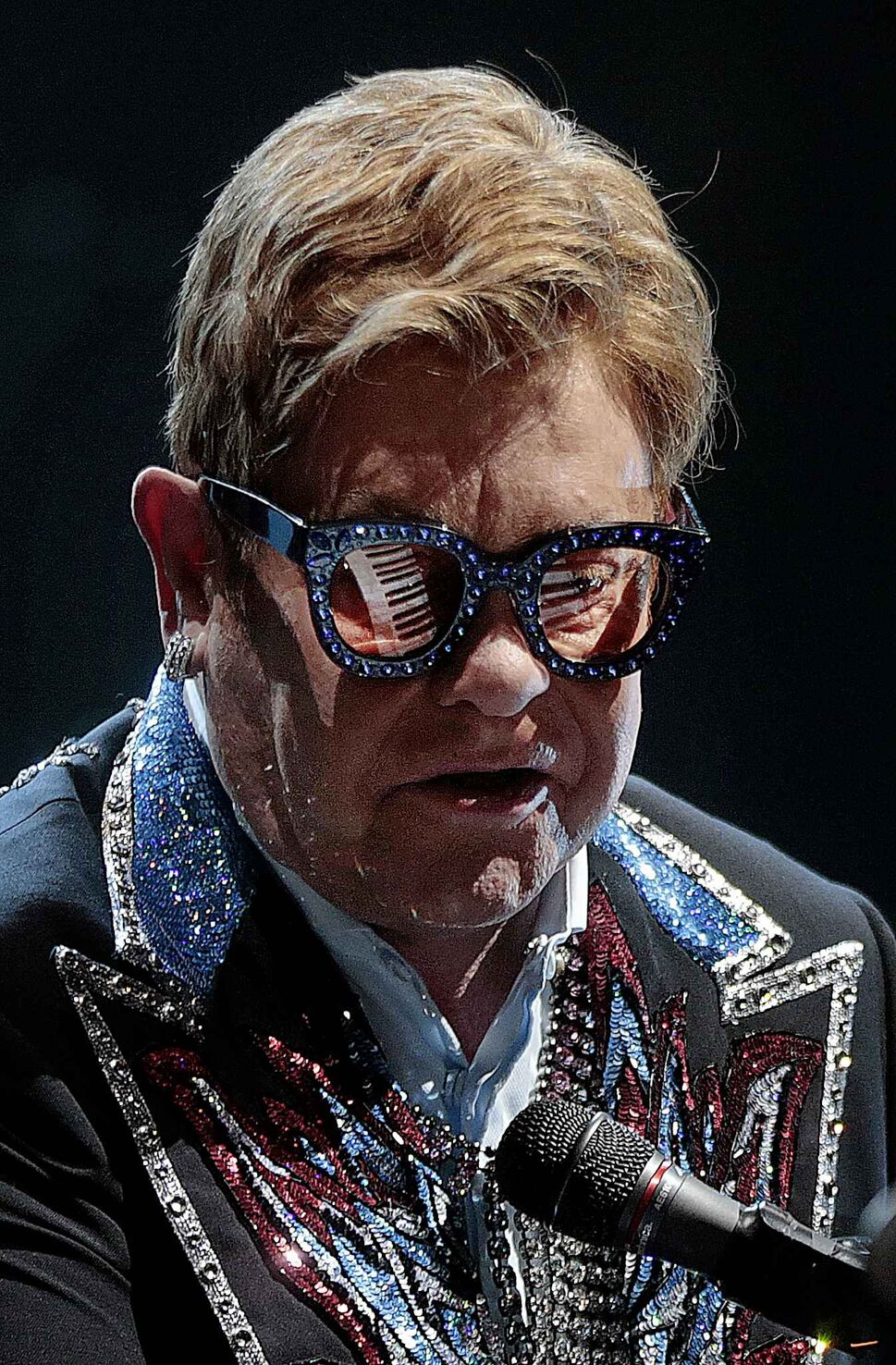 PHIL HOSSACK / WINNIPEG FREE PRESS Elton John brought his Farewell Yellow Brick Road tour to the city for two shows in October.