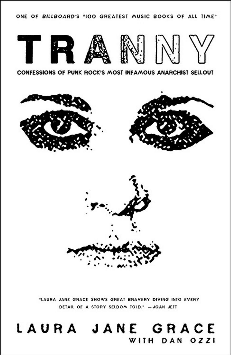 <h3>Tranny: Confessions of Punk Rock's Most Infamous Anarchist Sellout</h3> <br/> By Laura Jane Grace <br/> <strong>Against Me! founder and lead singer Laura Jane Grace shares the concurrent tale of her rise to fame and descent into transgender dysphoria blues which nearly costs her the band and her life. A warts-and-all look at the crash-and-burn millennial U.S. punk scene and a meditation on being transgender in an often hostile world.</strong> <br/> — Lara Rae
