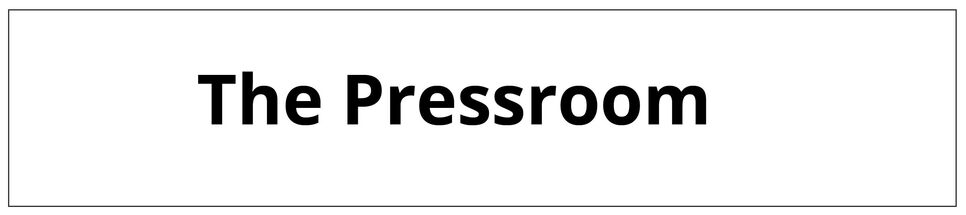 The pressroom: where the plates are printed on paper.