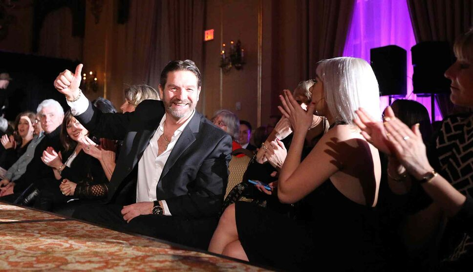 JASON HALSTEAD / WINNIPEG FREE PRESS</P><p>Attendees take in the Runway to Change fashion show fundraiser presented by Qualico in support of Main Street Project on Feb. 2, 2017, at the Fort Garry Hotel.