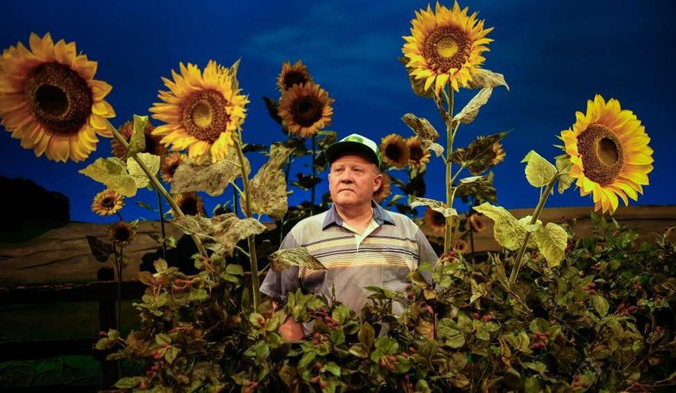 Tom Anniko is a local stage actor performing in the PTE production of Harvest.  April 03, 2014 (MIKE DEAL / WINNIPEG FREE PRESS)