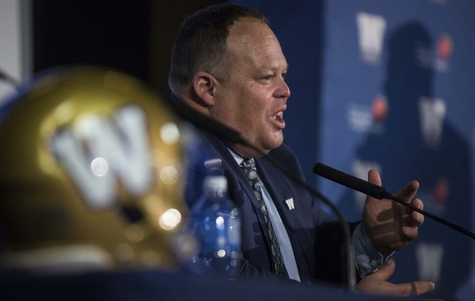 MIKE DEAL / WINNIPEG FREE PRESS</p><p>Blue Bombers president and CEO Wade Miller.