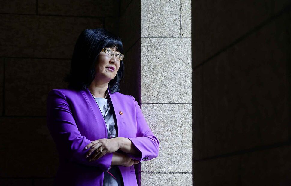 Sen. Yonah Martin made a video tribute honouring Sang Chul Lee, the first person of Asian descent to be moderator of the United Church of Canada. (Sean Kilpatrick / The Canadian Press Files) (CP)