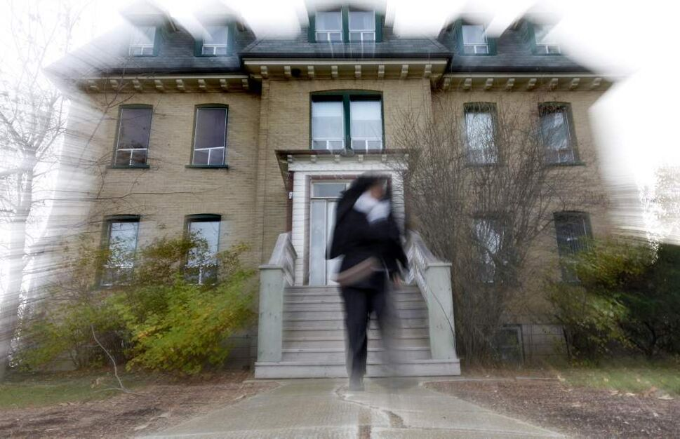 The L'Auberge Clémence bed and breakfast in Elie is said to be inhabited by spirits from a past life as a convent. Owners Jean and Linda Aquin say they have experienced strange and wonderful things.   (Ruth Bonneville /  Winnipeg Free Press)